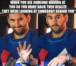 Behind you memes